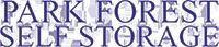 PARK FOREST SELF STORAGE Logo